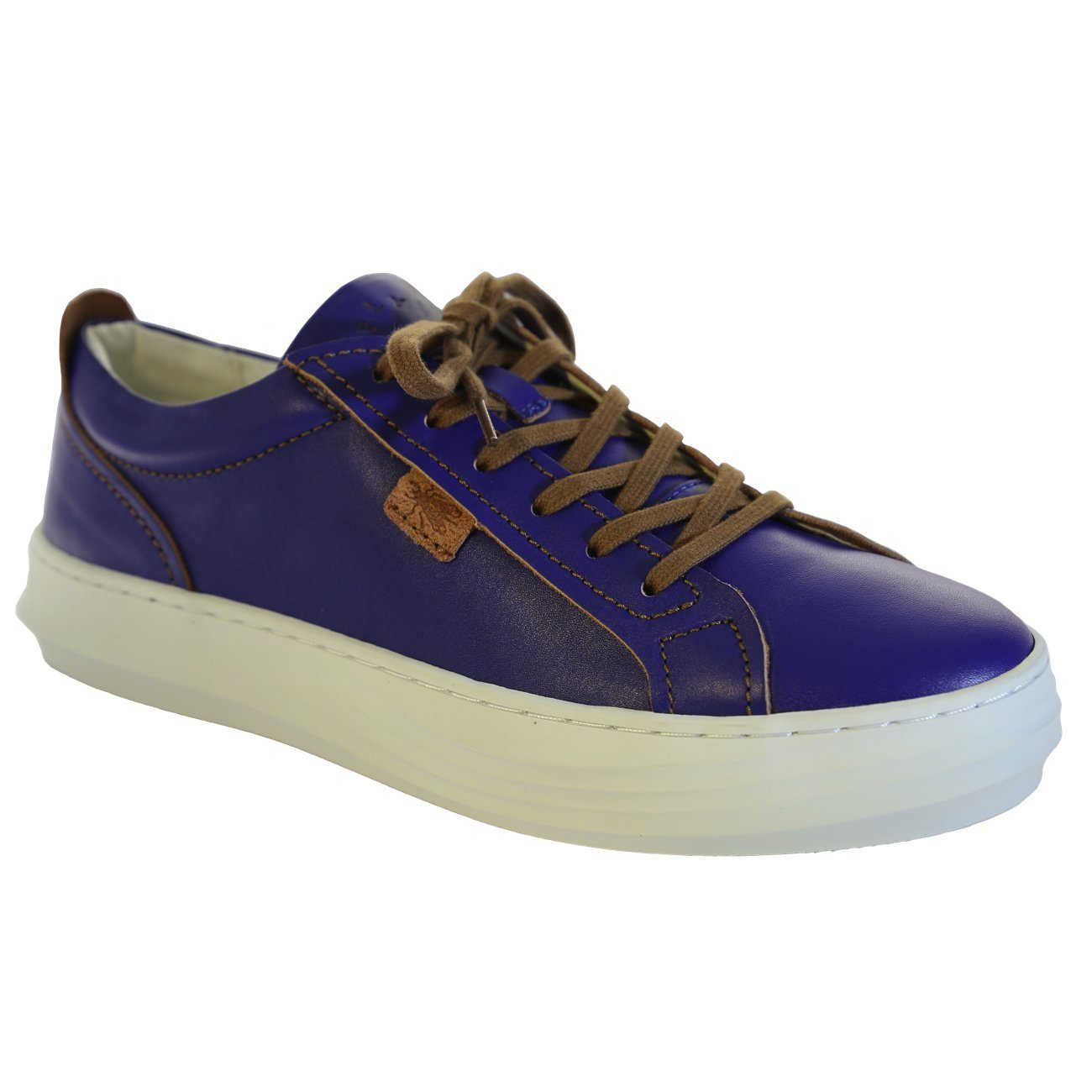 Fly London, FLS20 Cive, Laceup Shoes, Leather, Blue Shoes Fly London Blue 37