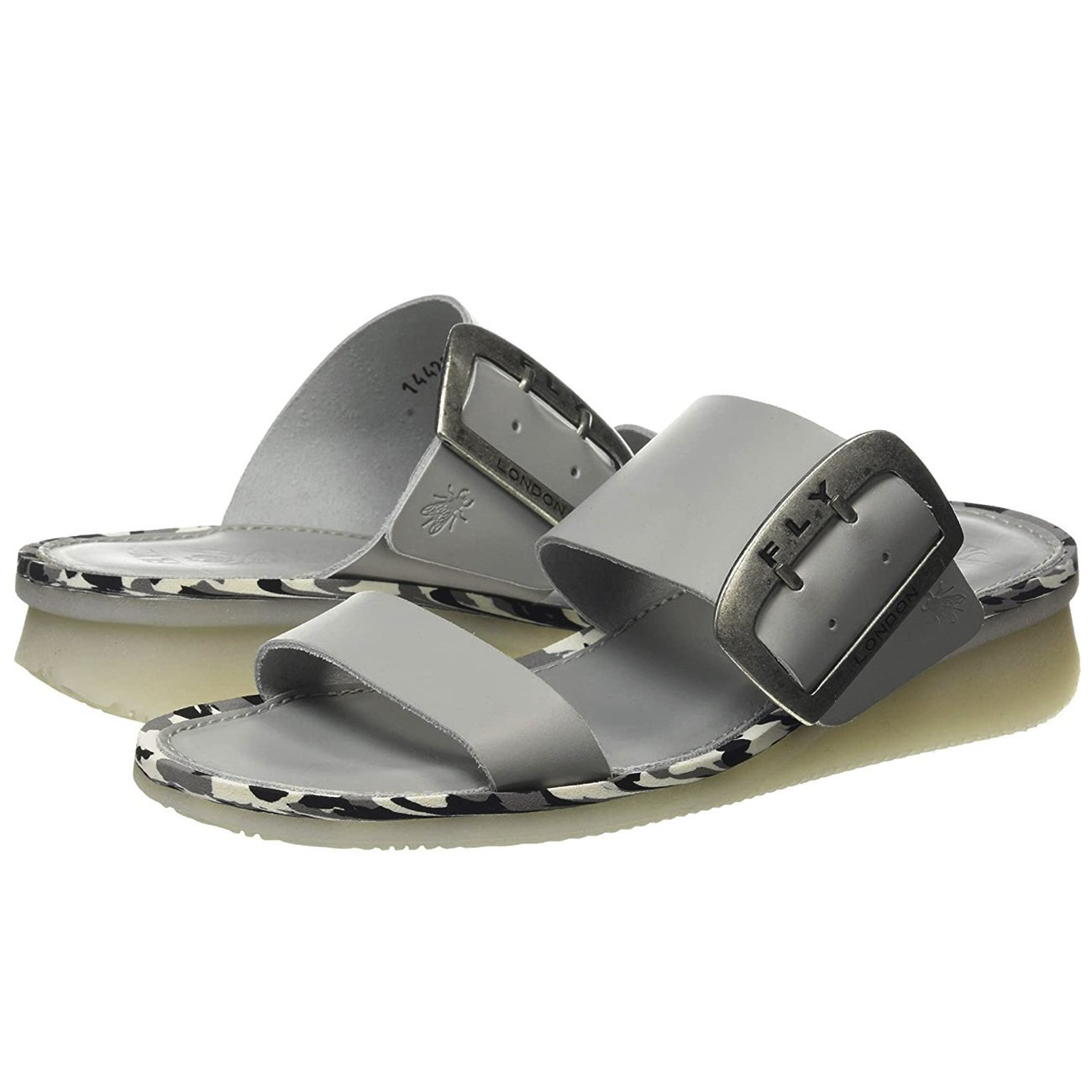 Fly London, FLS20 Cape, Slide, Leather, Cloud Sandals Fly London Cloud 37