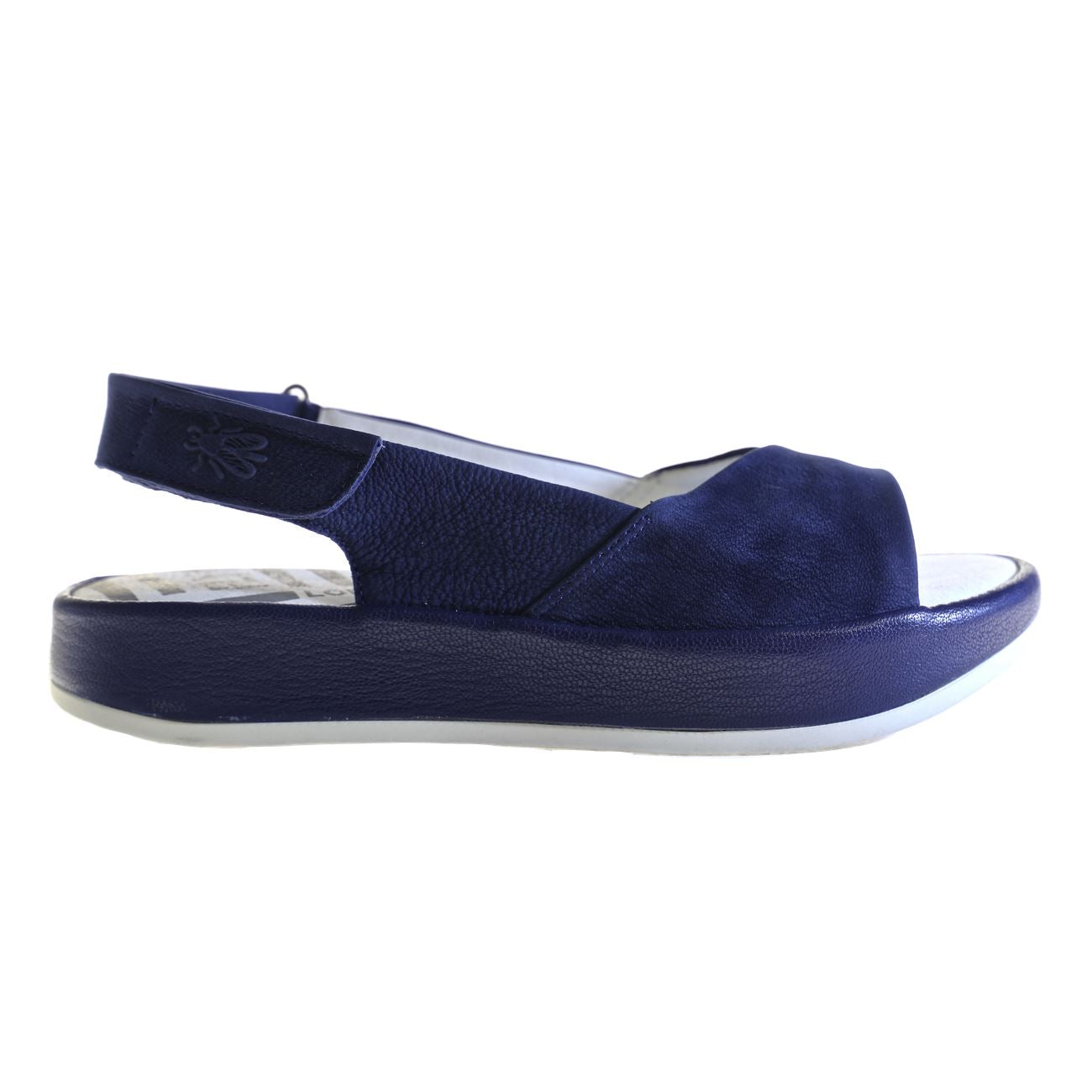 Fly London, FLS18-Bari, Sandal, Leather, Blue Sandals Fly London Blue 006 37
