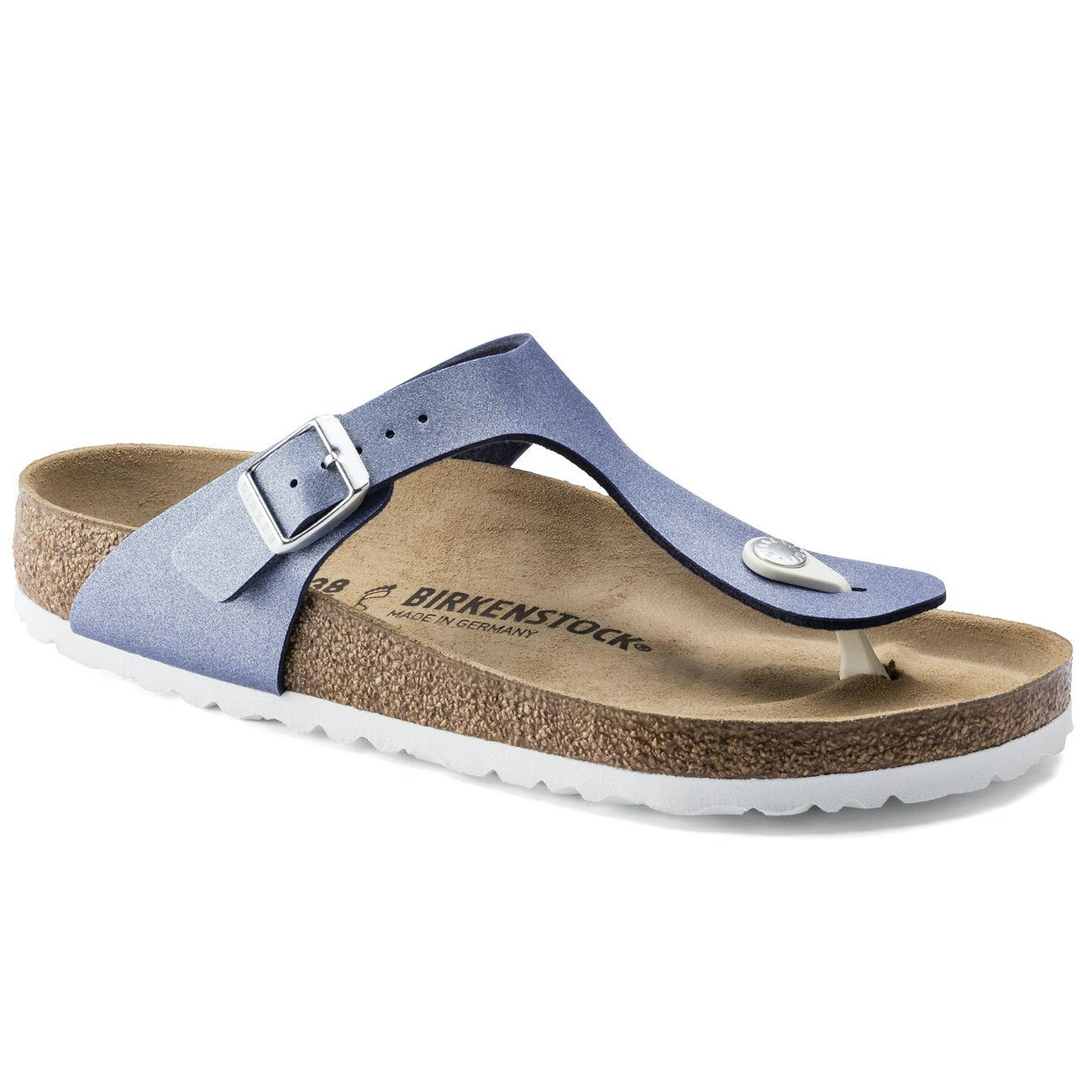 Birkenstock Seasonal, Gizeh, Birko-Flor, Regular Fit, Azure Blue Sandals Birkenstock Seasonal Azure Blue 35