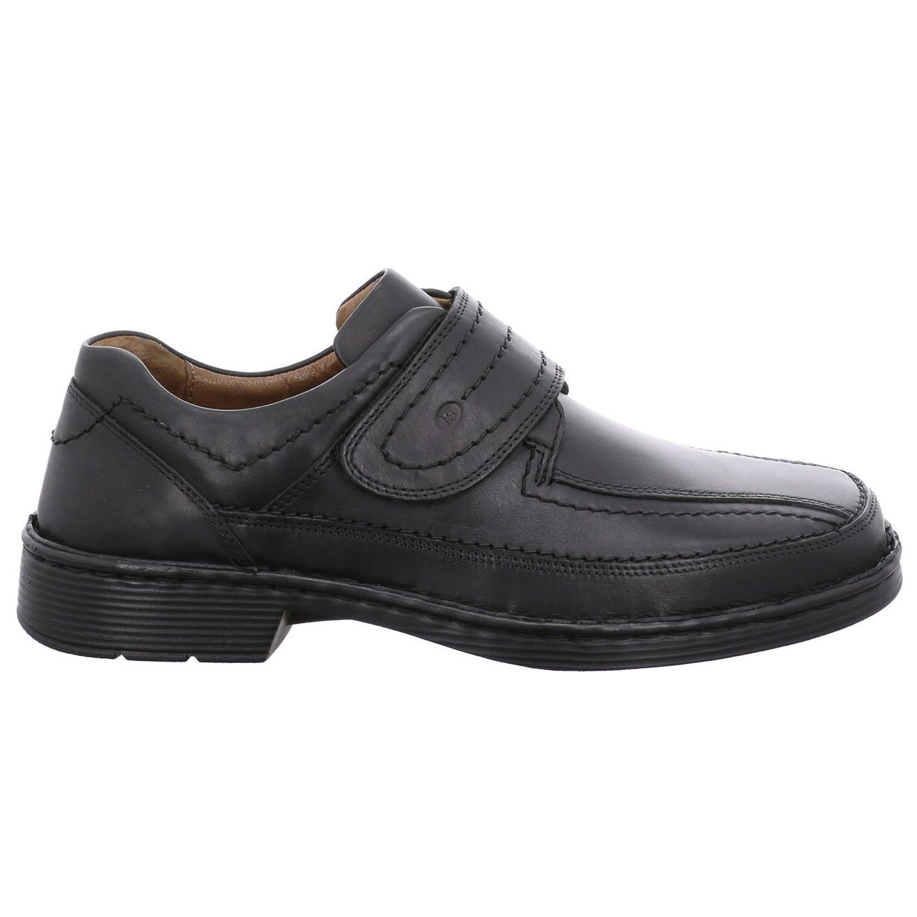 Josef Seibel, Bradford 06, Mens, Shoe, Leather, Black Shoes Josef Seibel Schwarz 45