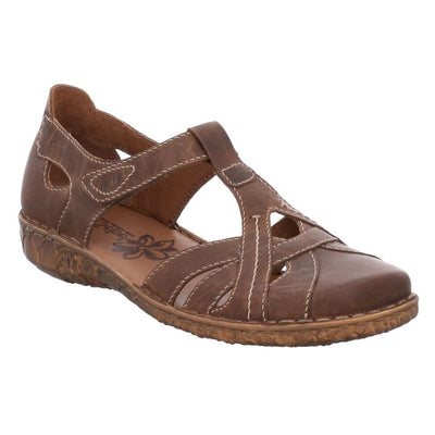 Josef Seibel, Rosalie 27, Sandal, Leather, Brandy Sandals Josef Seibel 95 320 Brandy 38