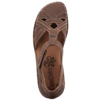 Josef Seibel, Rosalie 27, Sandal, Leather, Brandy Sandals Josef Seibel