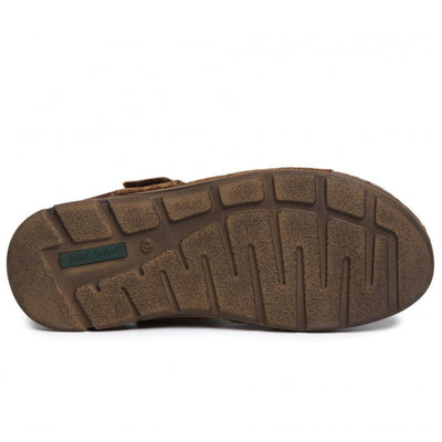 Josef Seibel, John 07, Sandal, Leather, Castagne-Kombi Sandals Josef Seibel