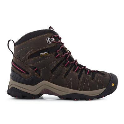 Keen, Gyspum Mid, Women, Medium Fit, KEEN.DRY, Black Olive/Slate Rose Hiking Boots Keen
