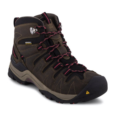 Keen, Gyspum Mid, Women, Medium Fit, KEEN.DRY, Black Olive/Slate Rose Hiking Boots Keen Black Olive/Slate Rose 8