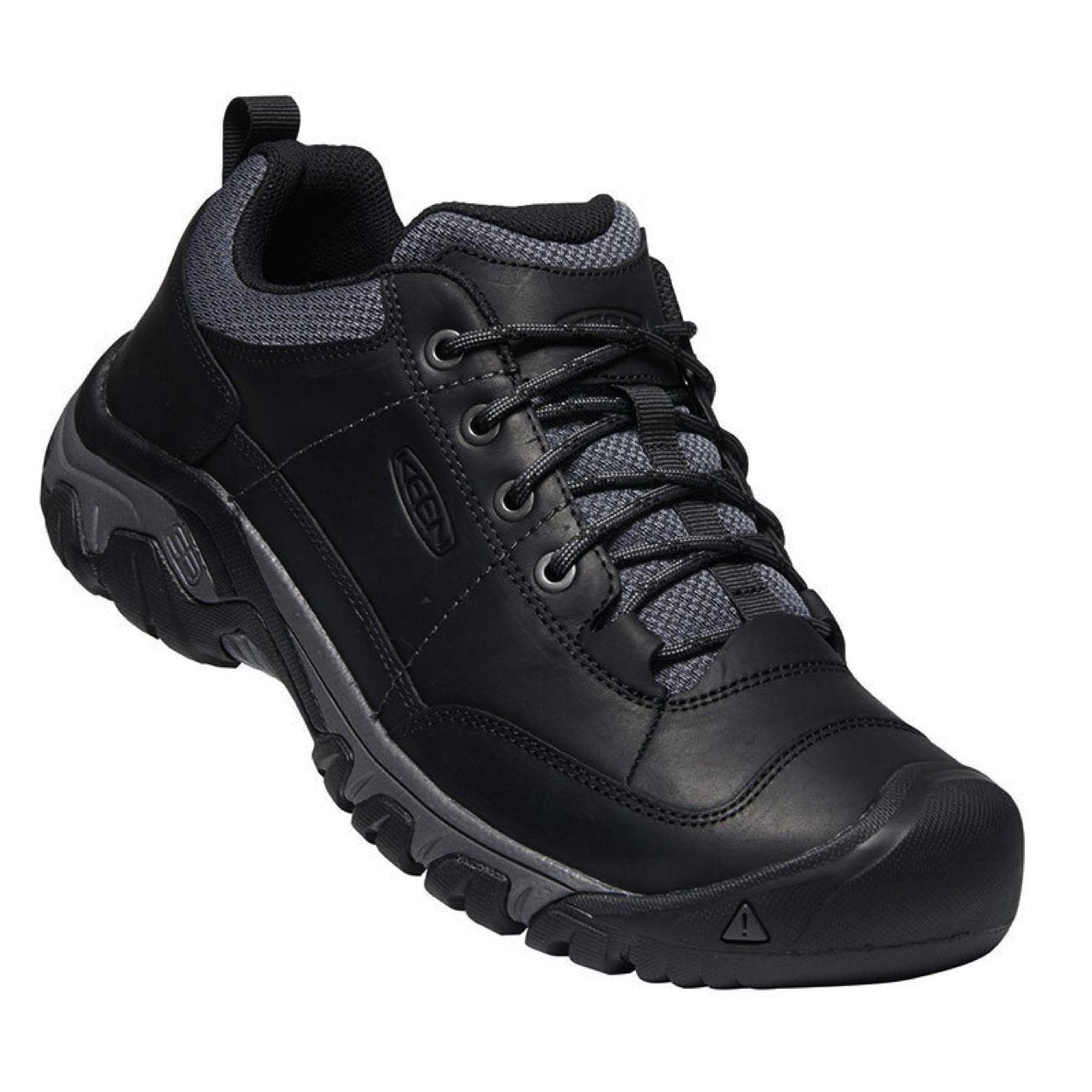Keen, Targhee III, Oxford, Mens, Black Magnet Shoes Keen Black Magnet 7.5
