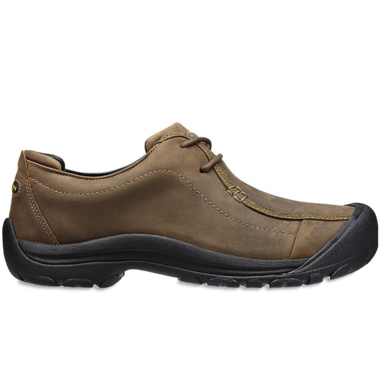 Keen, Portsmouth II, Men's, Oiled Nubuck Leather, Dark Earth Shoes Keen Dark Earth 13
