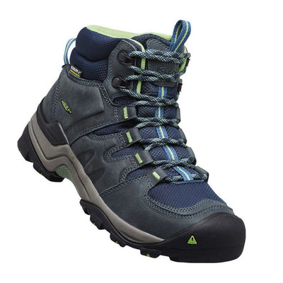 Gypsum II Mid, WP, Womens, Midnight Navy Opal Hiking Boots Keen Midnight Navy Opal 6.5