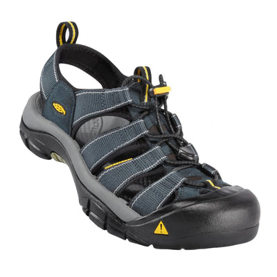 Keen, Newport H2, Medium Fit, Hydrophobic Mesh, Mens Sandals Keen Navy/Medium Grey 9.5