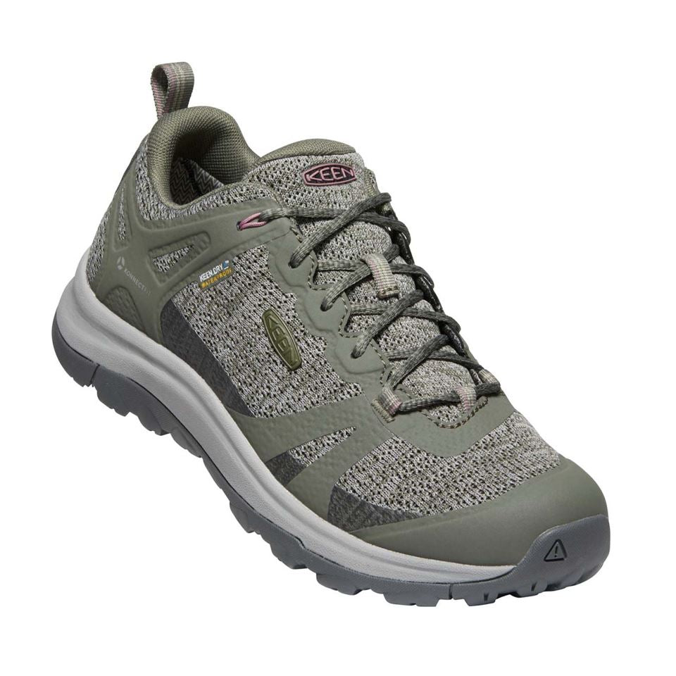 Keen, Terradora II WP, Womens, Dusty Olive Nostalgia Rose Shoes Keen Dusty Olive Nostalgia Rose 10