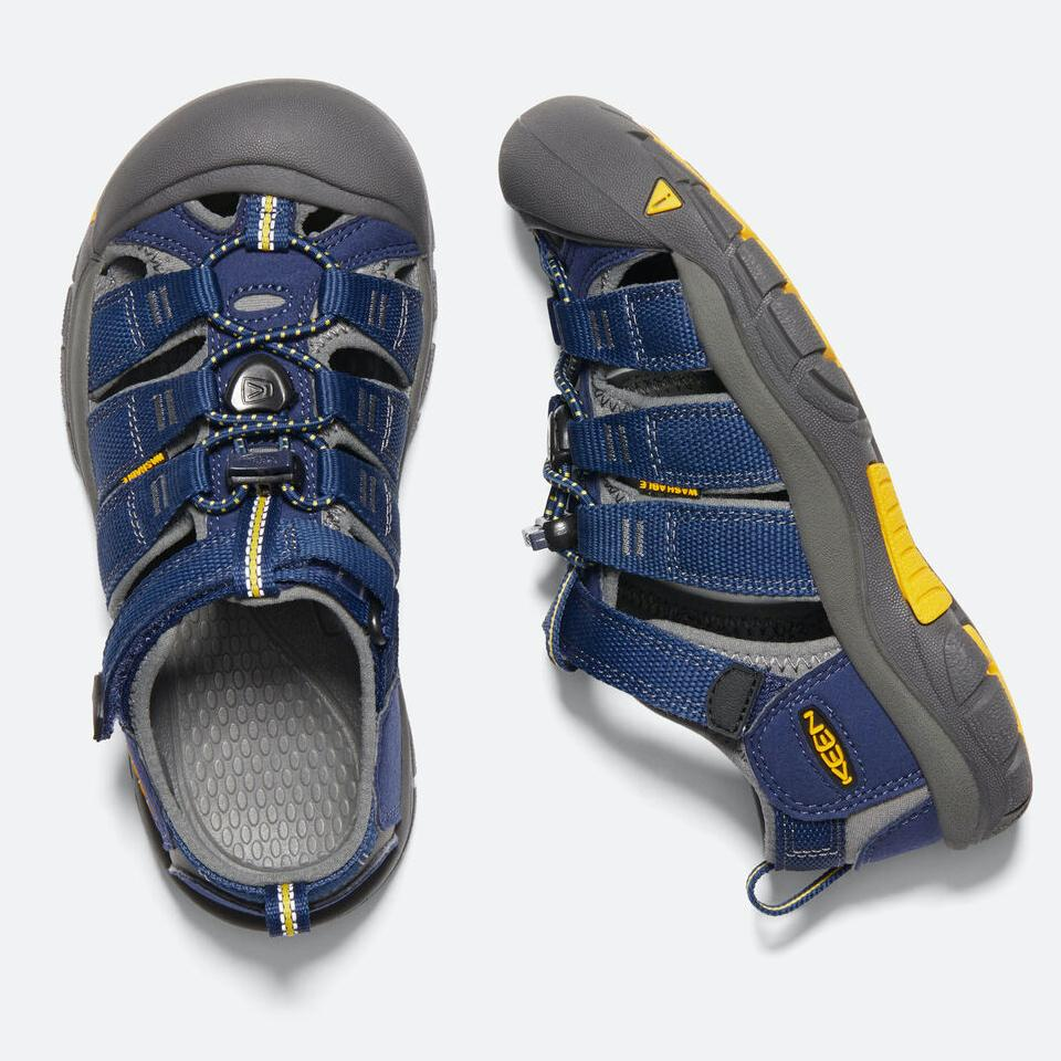 Keen Kids, Newport H2, CHILDREN Blue Depths/Gargoyle Sandals Keen Blue Depths/Gargoyle 12