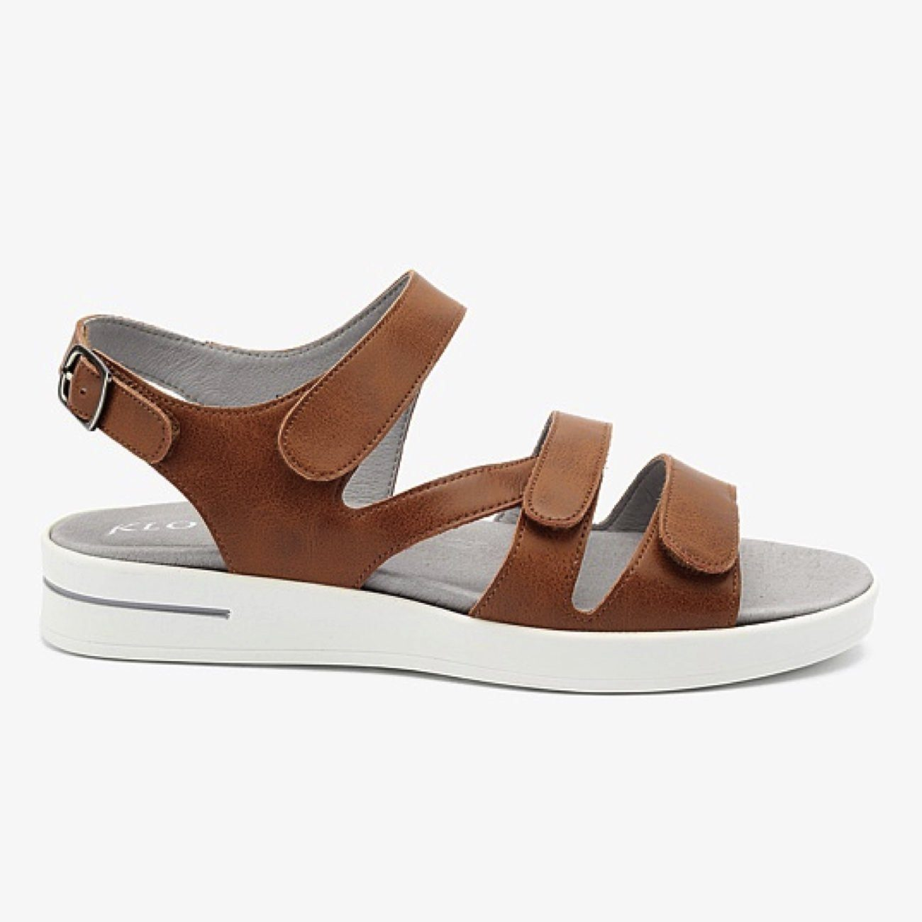 Klouds, Pamela, Sandals, Leather, Tan Sandals Klouds Tan 37