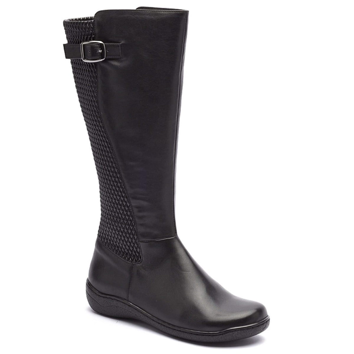 Klouds, Parisa, Leather, Boot, Black Boots Klouds Black 36