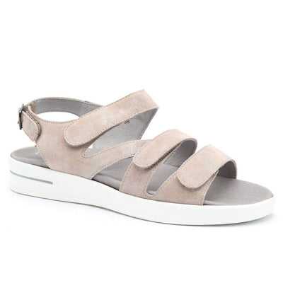 Klouds, Pamela, Sandal, Leather, Pale Gold Sandals Klouds
