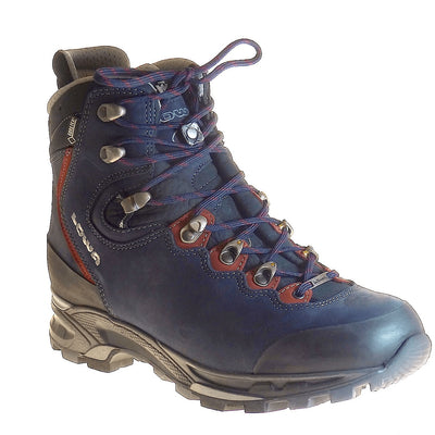LOWA, Mauria GTX, WXL-Wide, Women's, Dark Blue/Burgundy Hiking Boots LOWA Dark Blue/Burgundy 4UK