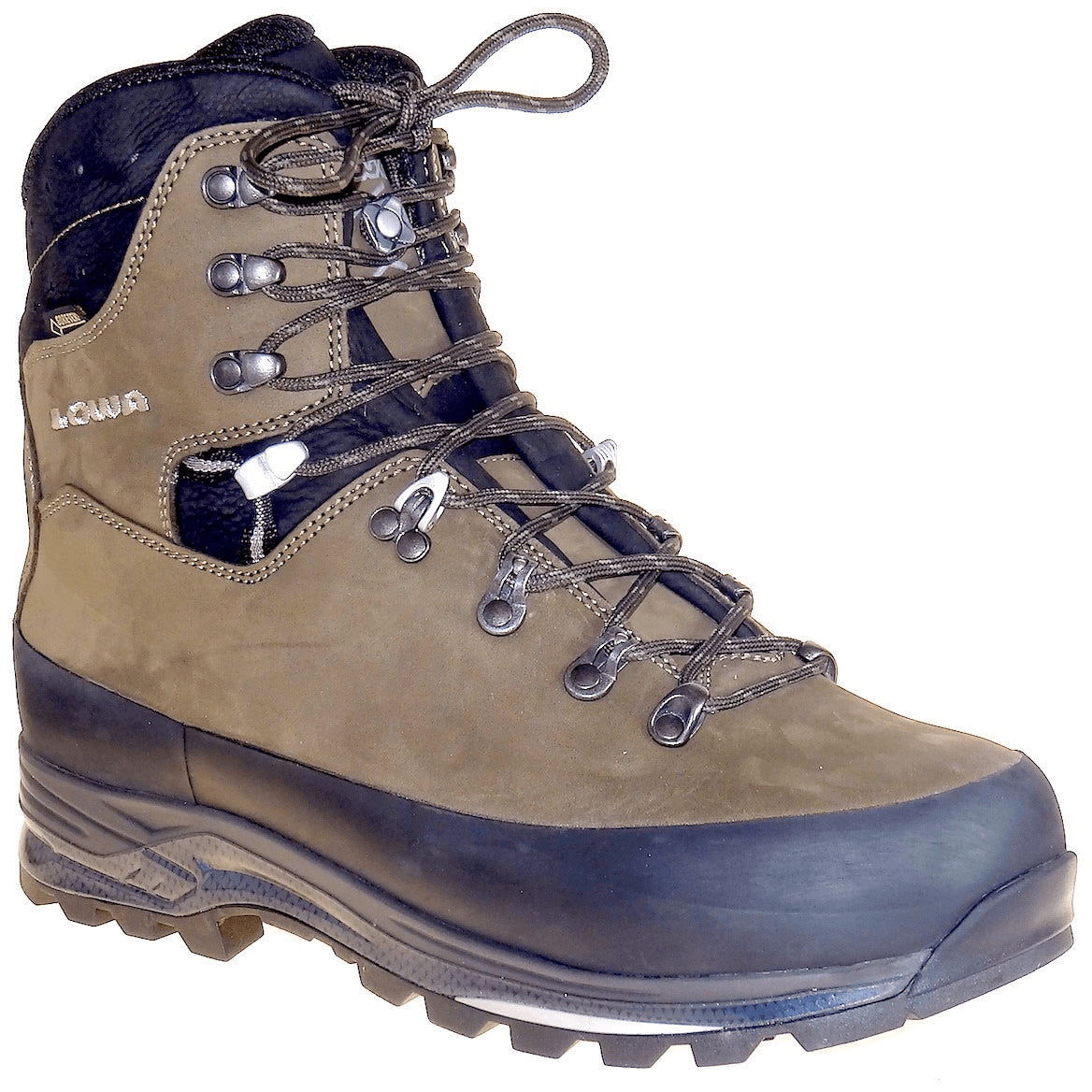 LOWA, Tibet GTX, WXL-Wide Fit, Men's, Sepia/Black Hiking Boots LOWA Sepia/Black 6.5UK