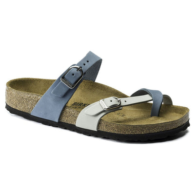 Birkenstock Seasonal, Mayari, Nubuck, Regular Fit, Dove Blue