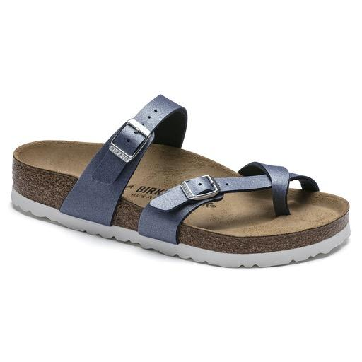 Birkenstock Seasonal, Mayari, Birko-Flor, Regular Fit, Azure Blue Sandals Birkenstock Seasonal Azure Blue 35