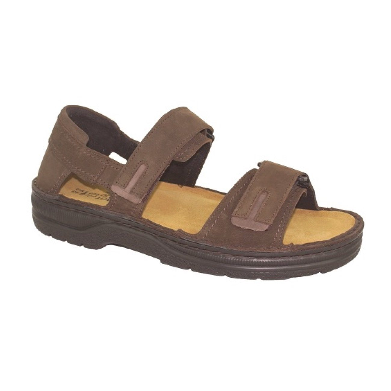 NAOT, Martin, Leather Sandal, Oily Brown Combo Sandals Naot Oily Brown Combo 40