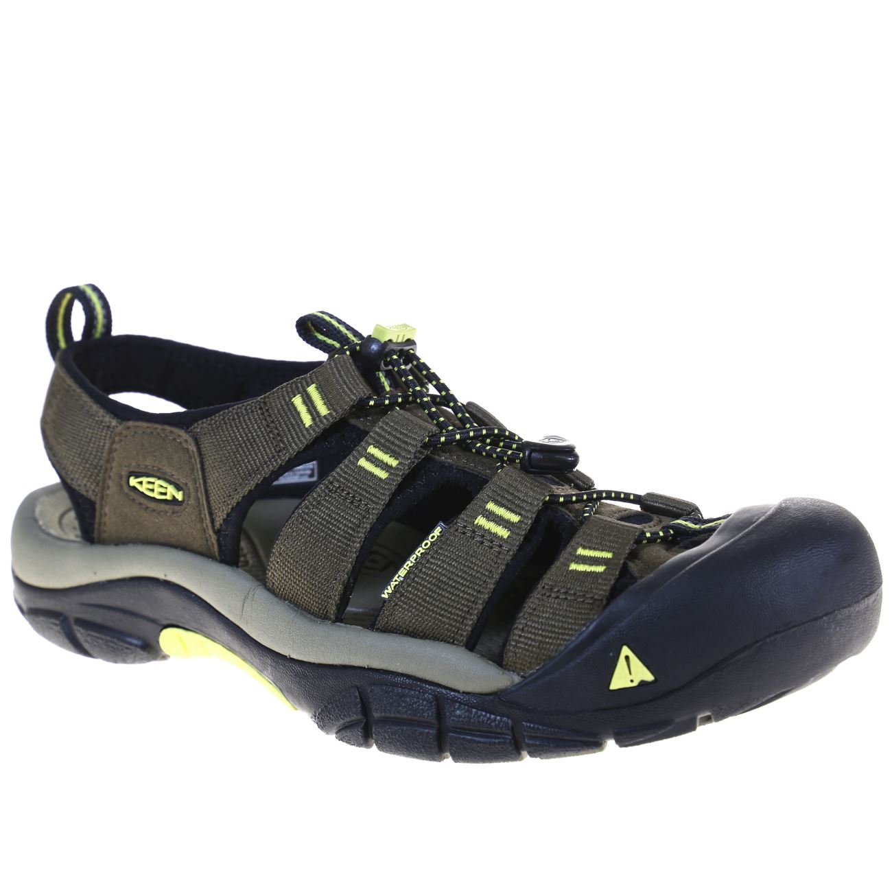 KEEN, Newport H2 Mens, Dark Earth Acacia Sandals Keen