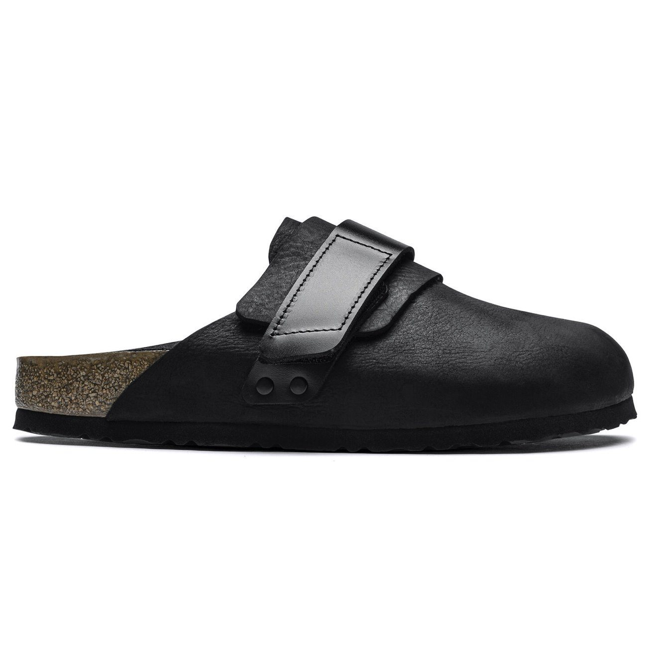 Birkenstock Seasonal, Nagoya, Nubuck Leather/Birko-Flor, Regular Fit, Black Sandals Birkenstock Seasonal Black 35