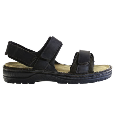 Naot, Arthur, Medium Fit, Leather, Crazy Horse Sandals Naot