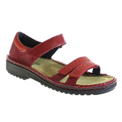 Naot, Carlotta, Leather, Poppy Combo Sandals Naot