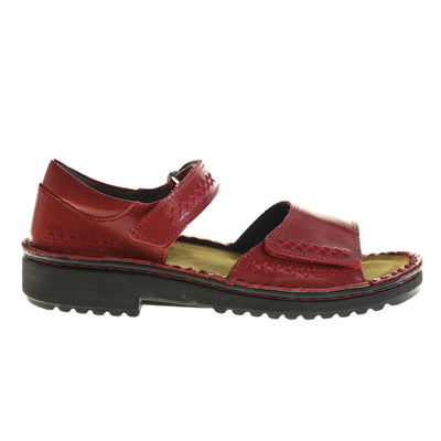 Naot, Norel, Leather, Poppy Sandals Naot
