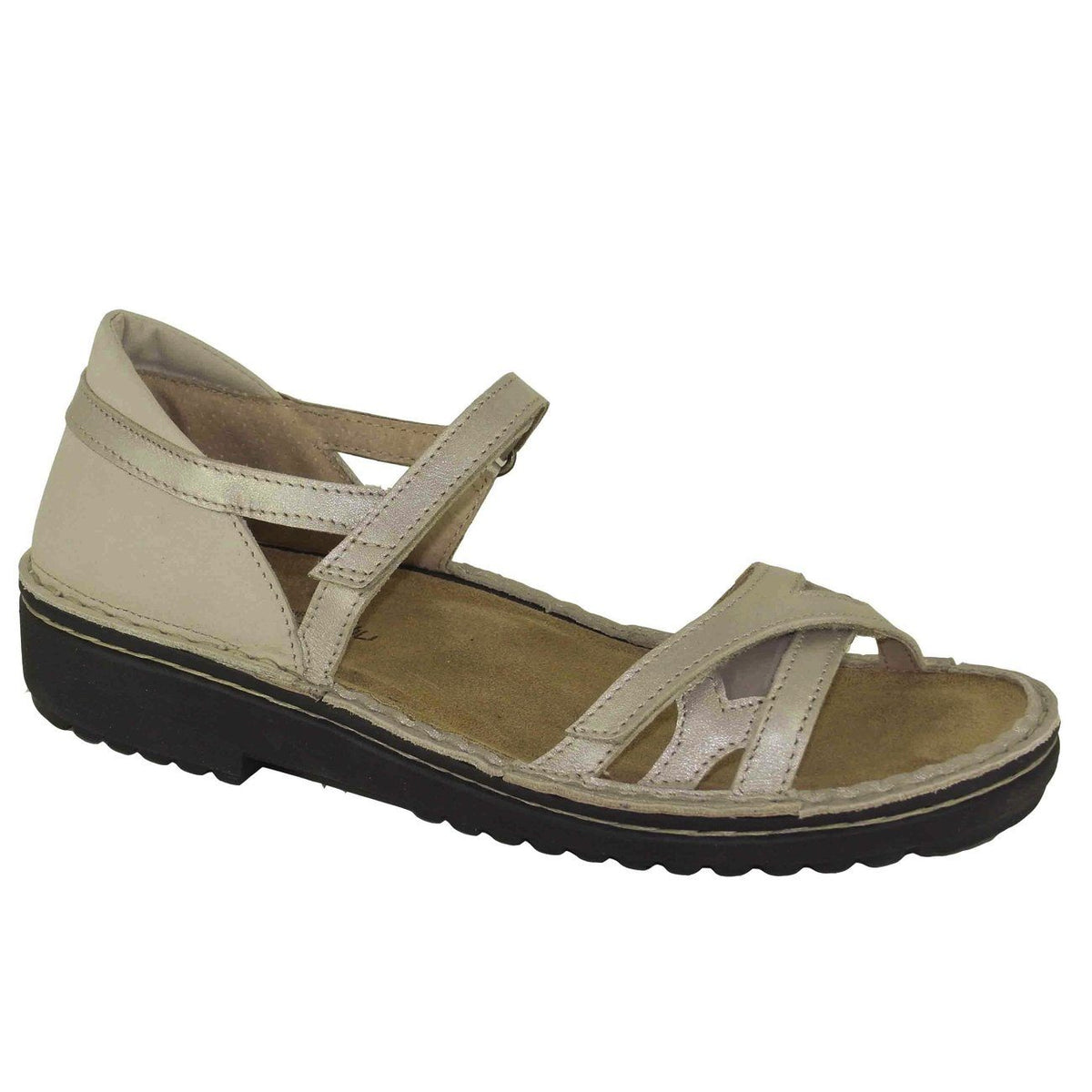 Naot, Tatiana, Leather, Medium Fit, Stardust Combo Sandals Naot Stardust Combo 37