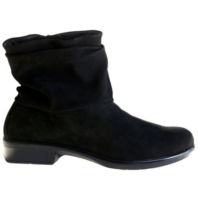 NAOT, Brisote, Leather, Boots, Black Velvet Boots Naot