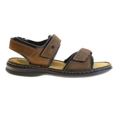 Josef Seibel, Rafe, Sandals, Leather, Brasil/Black