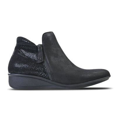 Revere, Damascus, Boot, Leather, Onyx/Black Lizard Boots Revere