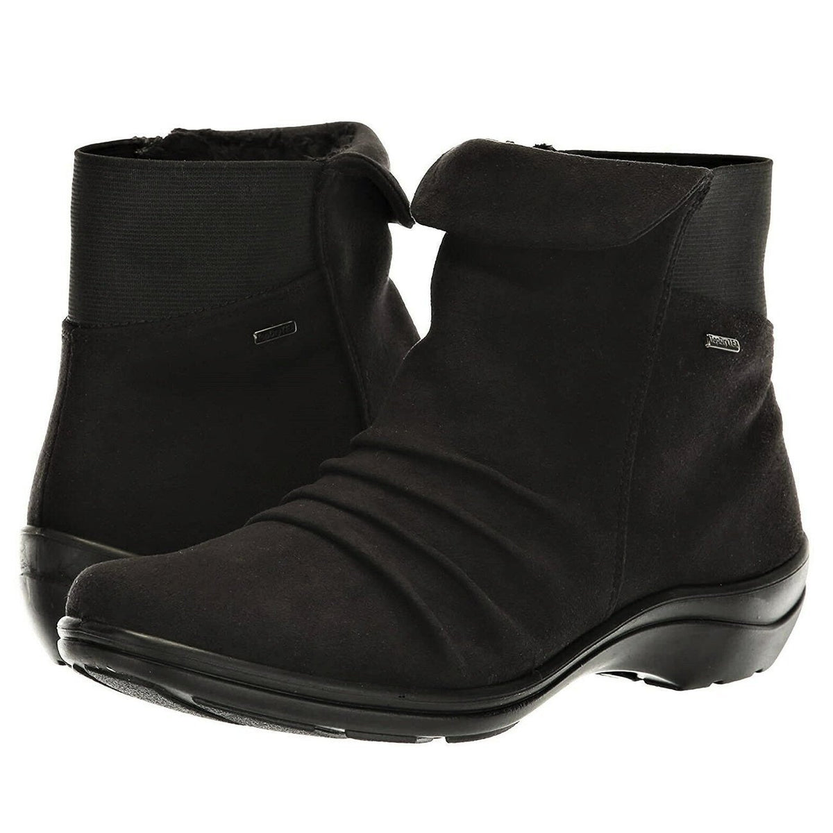 Romika, Cassie 48, Textile Upper Boot, Waterproof, Black Boots Romika