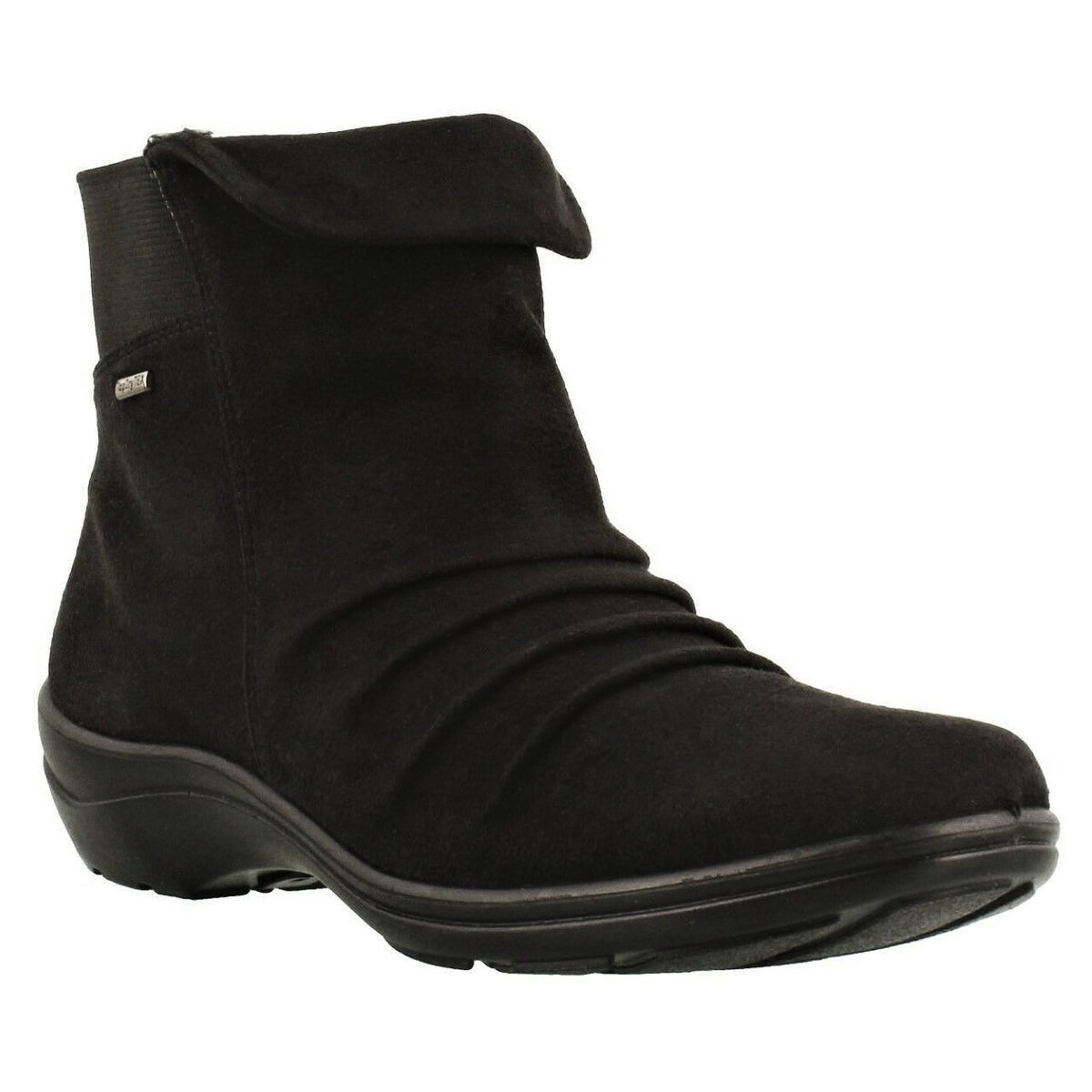 Romika, Cassie 48, Textile Upper Boot, Waterproof, Black Boots Romika Black 36