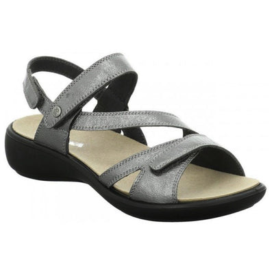 Romika, Ibiza 105, Sandal, Leather, Basalt