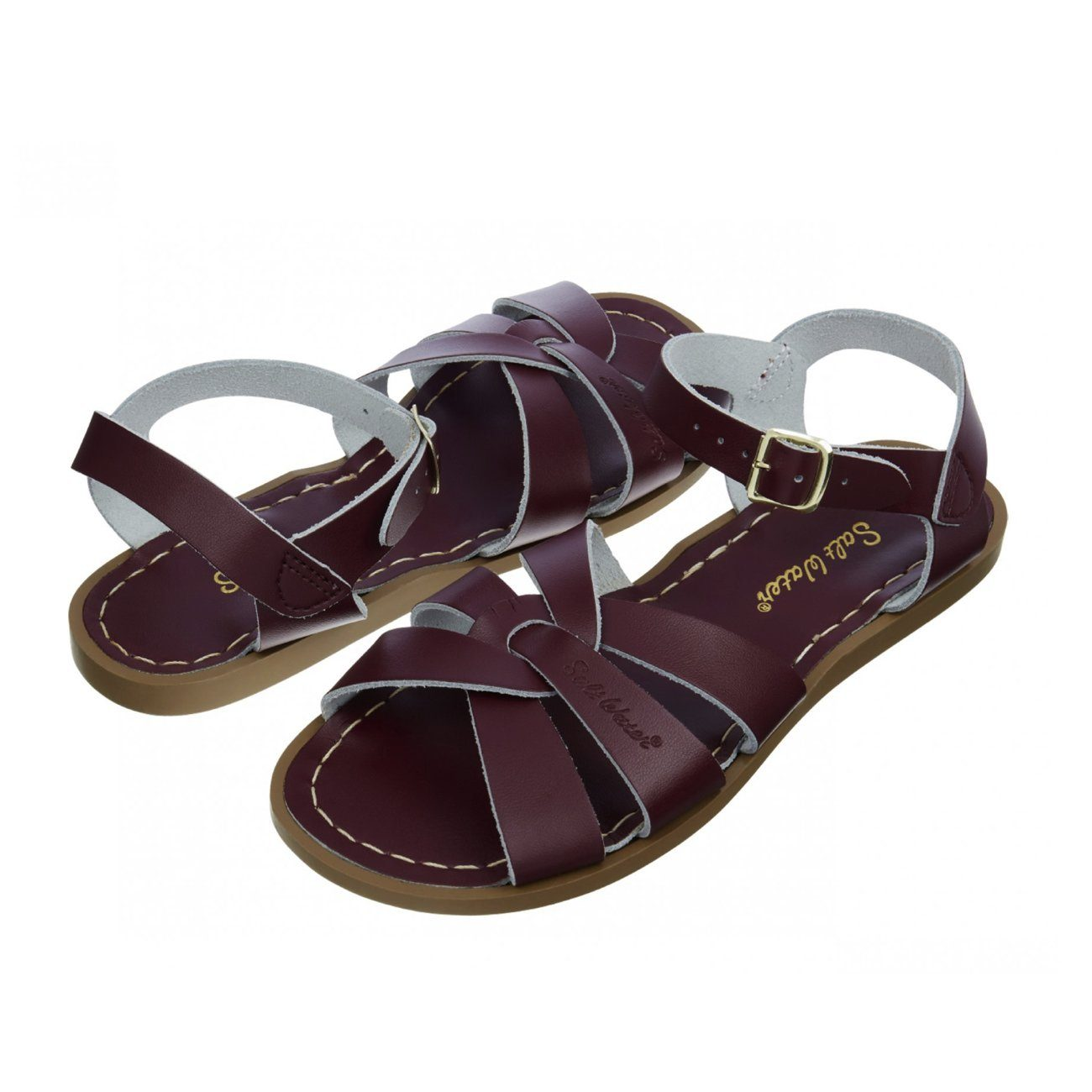 Salt Water Sandals, Original, Child, Claret Sandals Salt Water Sandals Claret C11