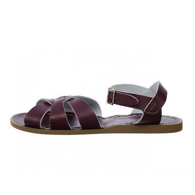 Salt Water Sandals, Original, Child, Claret Sandals Salt Water Sandals