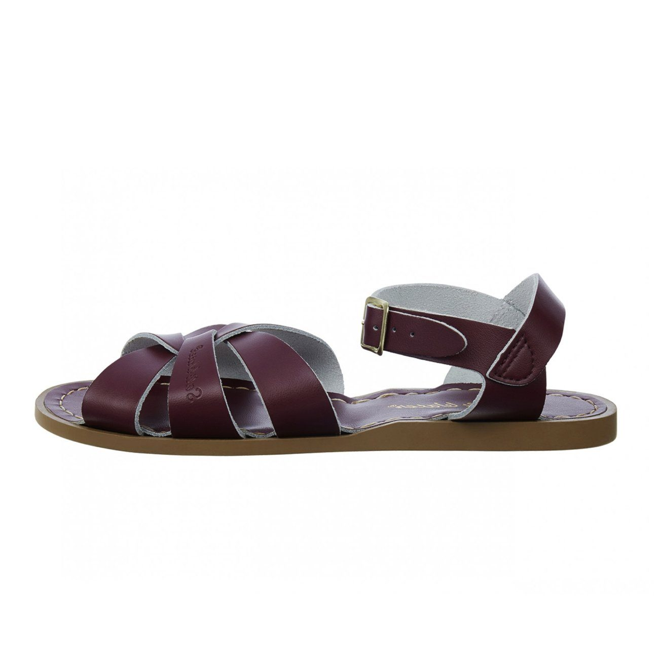 Salt Water Sandals, Original, Youth, Claret Sandals Salt Water Sandals Claret Y3