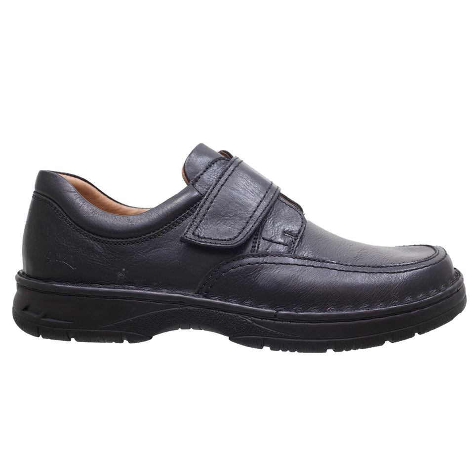 SoftWalk, 9052 XW, Shoe, Leather, Black Shoes SoftWalk