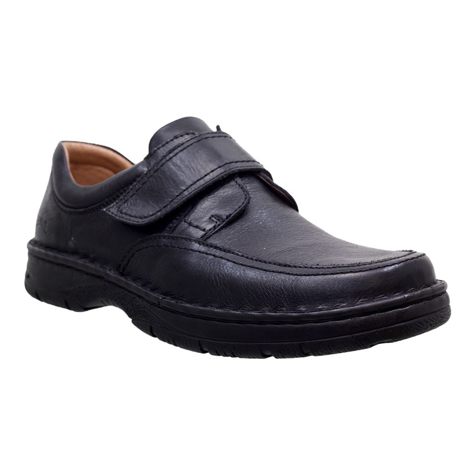 SoftWalk, 9052 XW, Shoe, Leather, Black Shoes SoftWalk Black 42