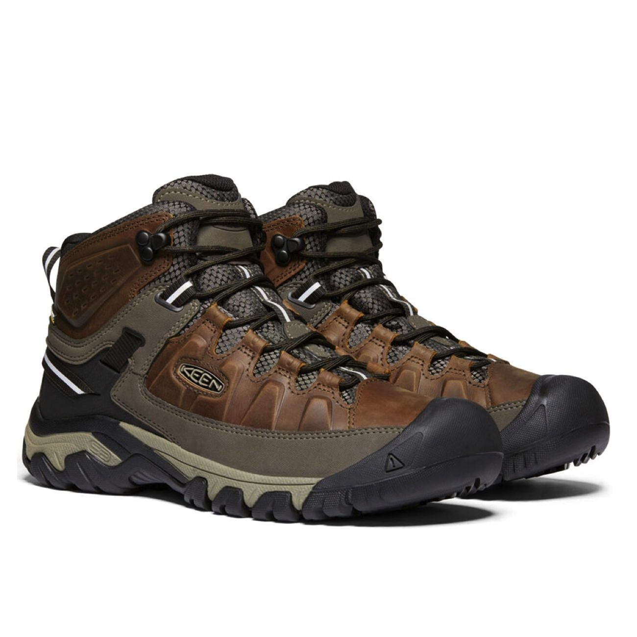 Keen, Targhee III Mid WP, Mens, Boot, Chestnut Mulch Hiking Boots Keen Chestnut Mulch 8