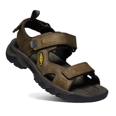 Keen, Targhee III, Open Toe Sandal, Mens, Bison Mulch Sandals Keen Bison Mulch 10