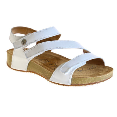 Josef Seibel, Tonga 25, Sandals, Leather, White at Sole Drifter Hahndorf