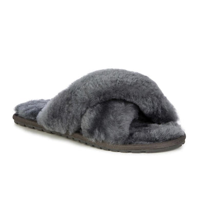 EMU Australia, Mayberry, Slipper, Charcoal House Shoes Emu Australia Charcoal W6