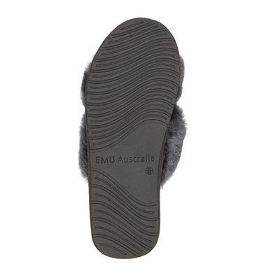 EMU Australia, Mayberry, Slipper, Charcoal House Shoes Emu Australia