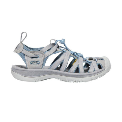 KEEN, Whisper Women's, Blue Shadow Alloy Sandals Keen Blue Shadow Alloy 6