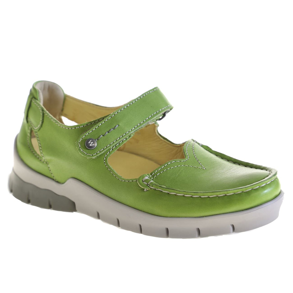 Wolky, Polina, Shoes, Leather, 70-750 Lime Shoes Wolky 70-750 Lime 38