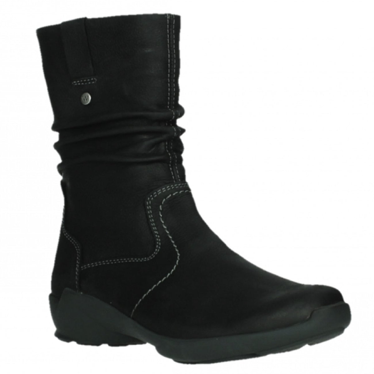 Wolky, Luna WP, Boot, Antique Nubuck, Ladies, Black Boots Wolky Black 36