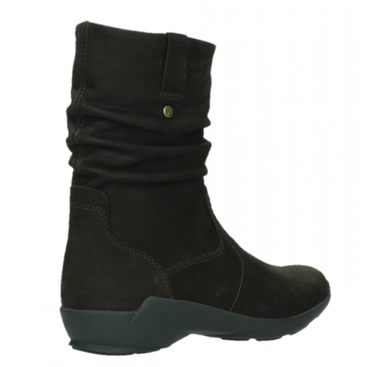 Wolky, Luna WP, Boot, Antique Nubuck, Ladies, Brown Boots Wolky